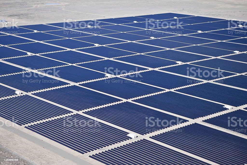 Desert Solar stock photo