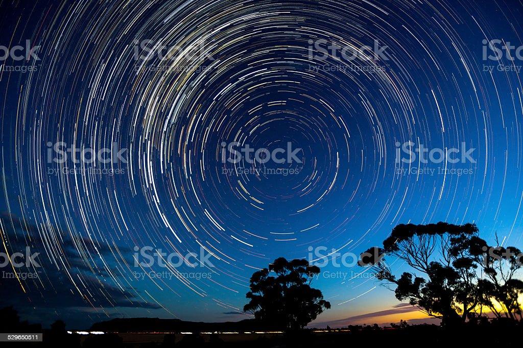Desert star stock photo
