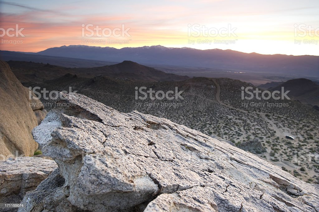 desert sun stock photo