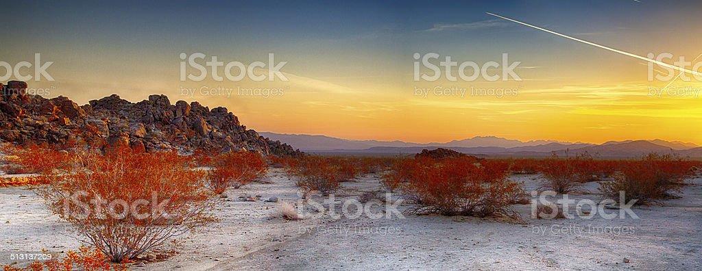 Wüste Sonnenaufgang – Foto