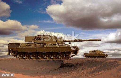 istock Desert Tanks 92095186