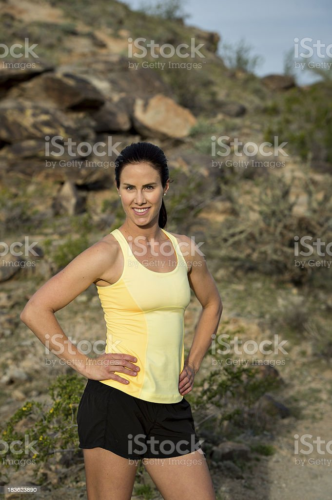 Desert Trail royalty-free stock photo