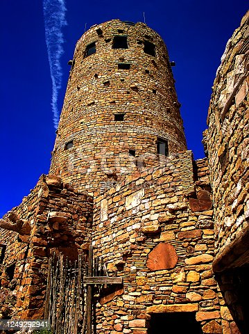 The Watchtower in Grand Canyon National Park