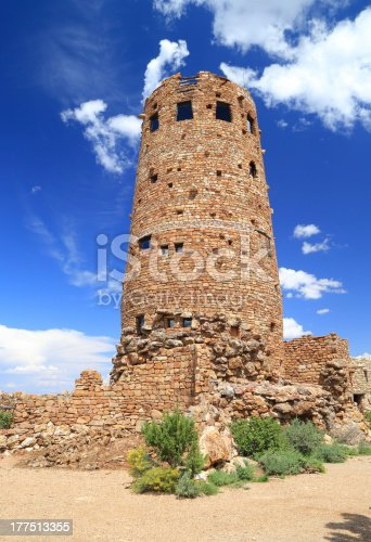 Desert View Watchtower in the day Light