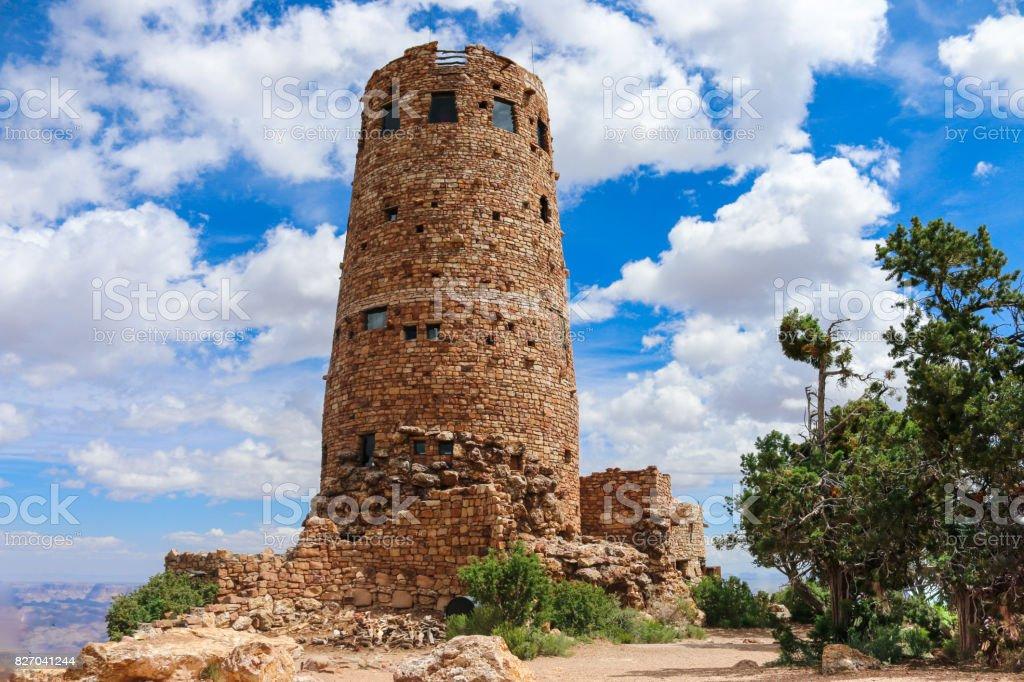 Desert View Watchtower. stock photo