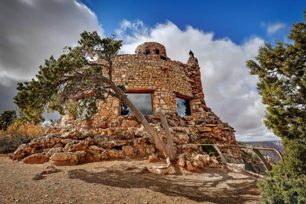 Desert View Watchtower stock photo