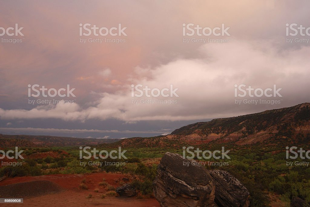 Desert Warning royalty free stockfoto