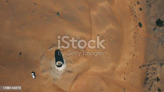 Desert watchtower in Umm Al Quwain