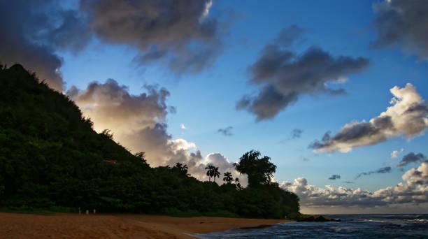 deserted Haena Beach, Kauai