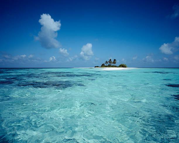 Einsames Island, Malediven – Foto