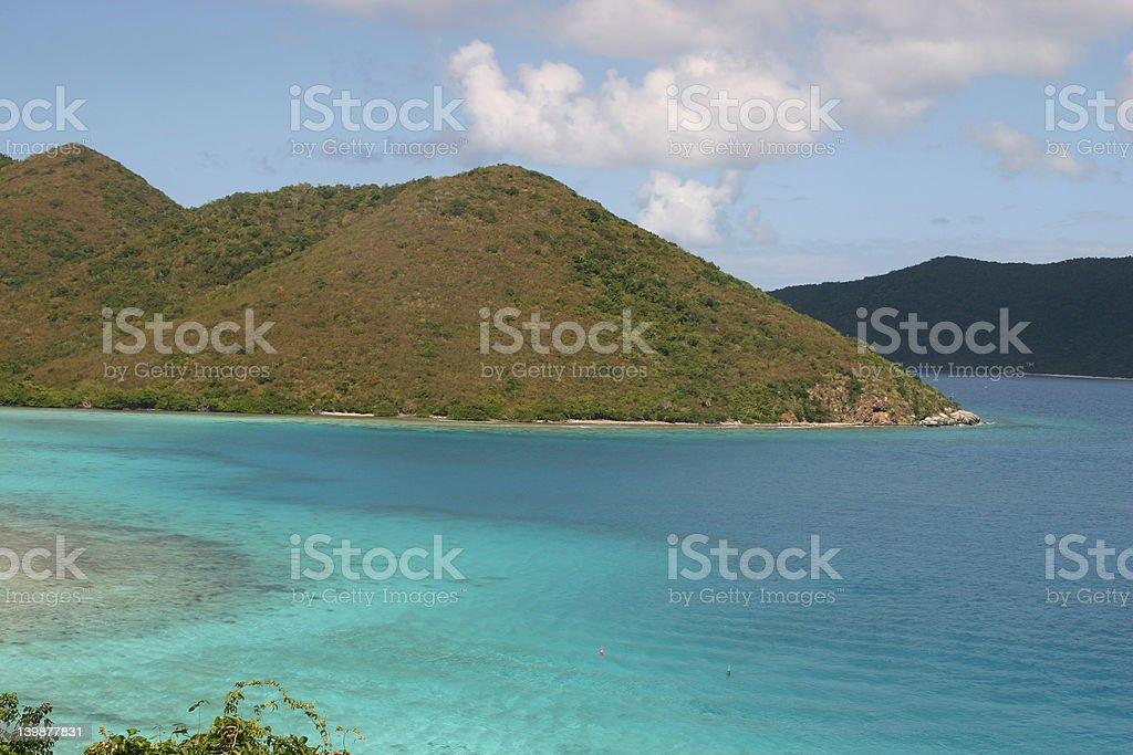Deserted Island royalty-free stock photo