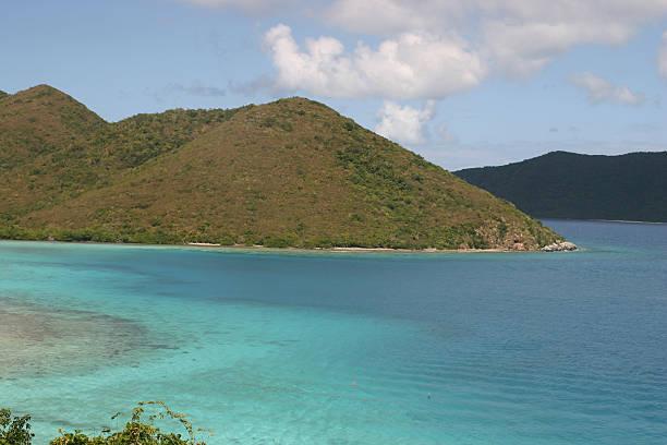 Deserted Island stock photo