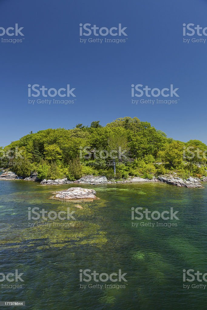 Deserted Island royalty-free stock photo