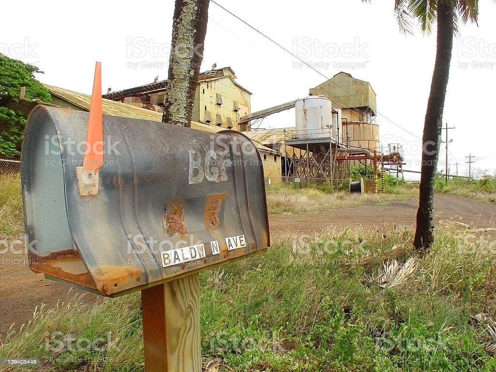 Deserted Mailbox royalty-free stock photo