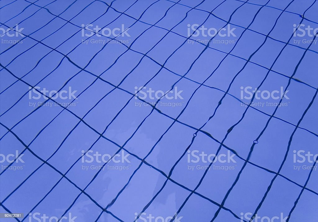 deserted pool royalty-free stock photo