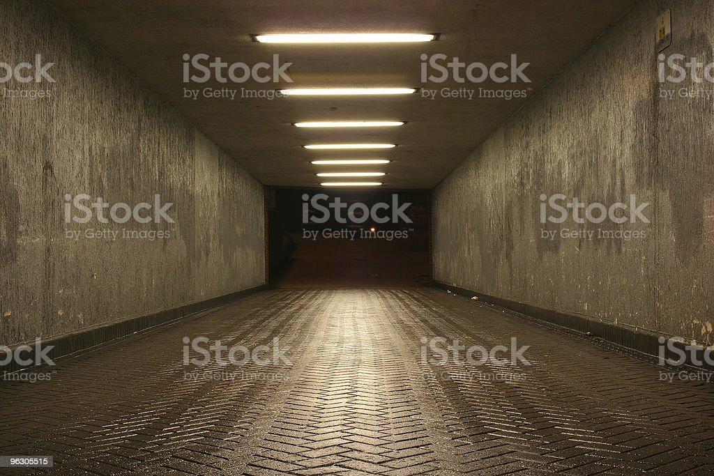 Deserted Subway royalty-free stock photo