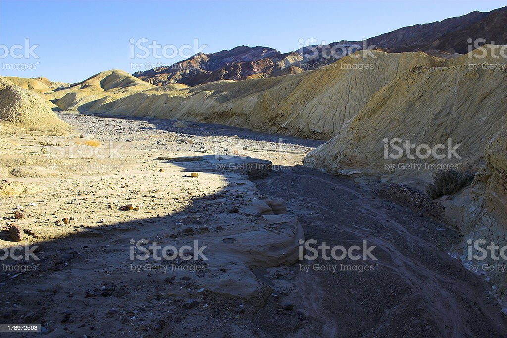 Desertscapes of Death Valley royalty-free stock photo