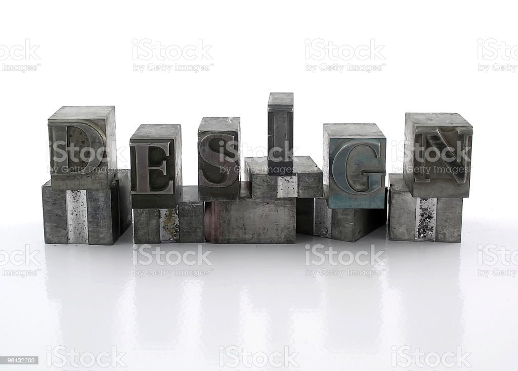 design 1 royalty-free stock photo