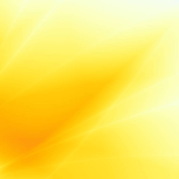 Design abstract yellow sunny fun background stock photo