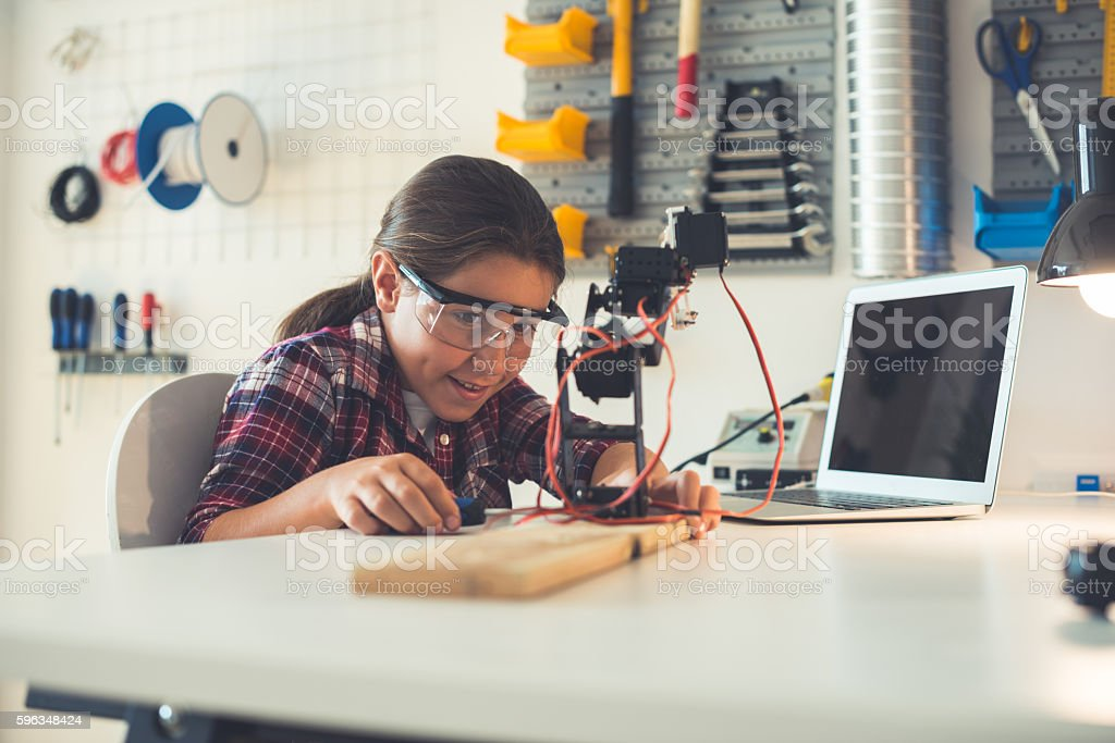 Design and technology lessons royalty-free stock photo