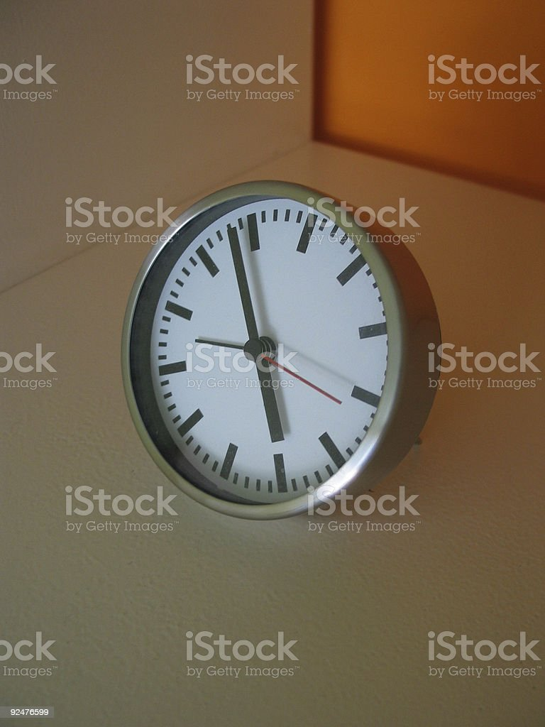 Design Clock royalty-free stock photo