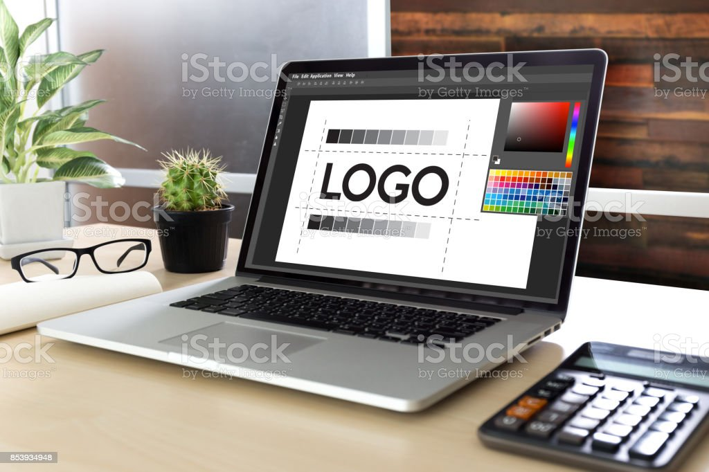 design creative creativity work brand designer sketch graphic  logo design Business concept stock photo