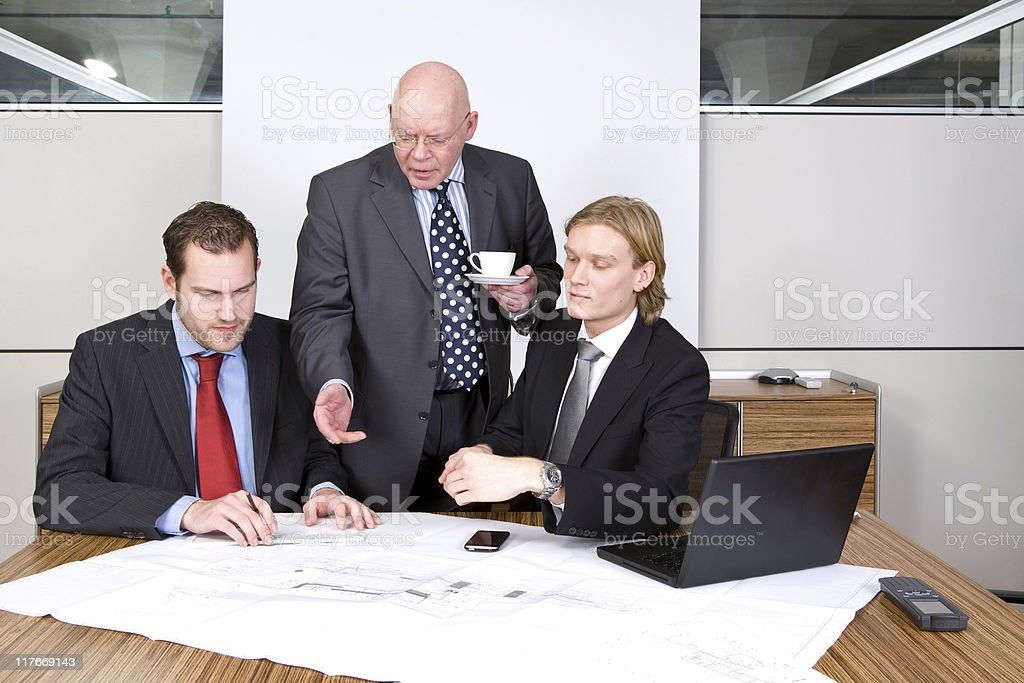 Design discussions royalty-free stock photo