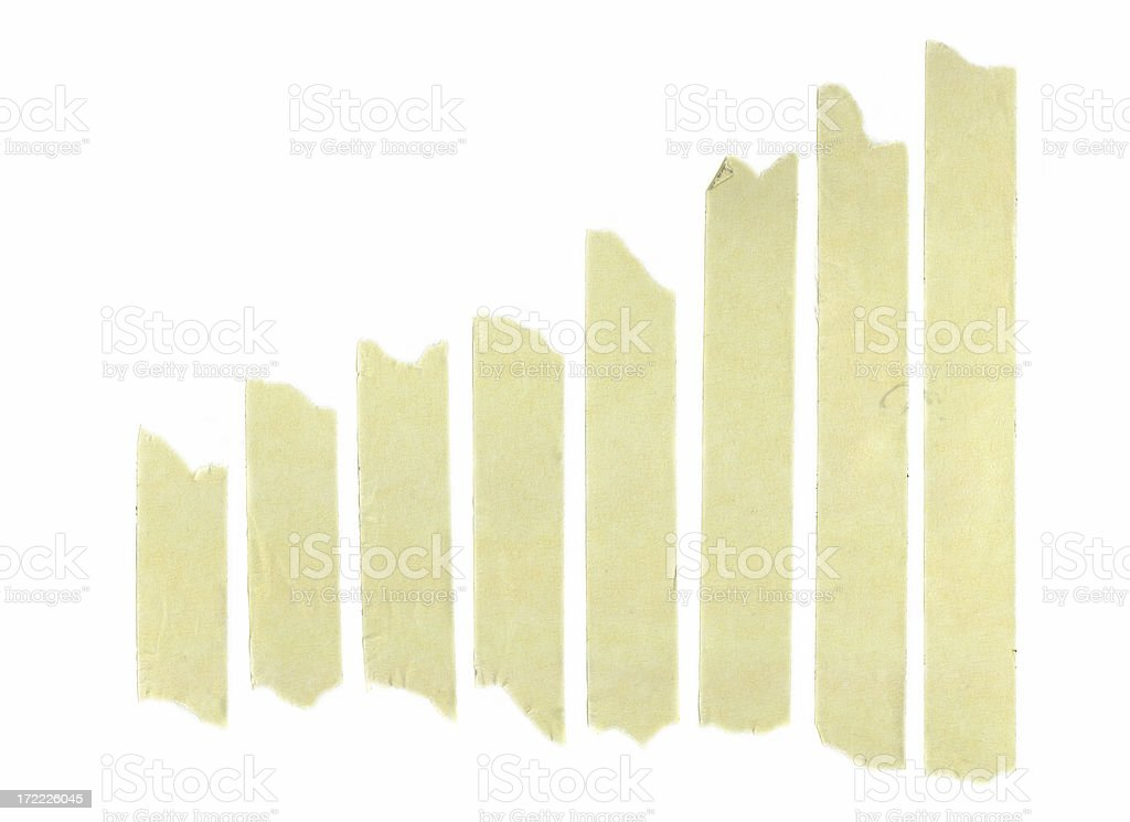 Design Element - Assorted Masking Tape royalty-free stock photo