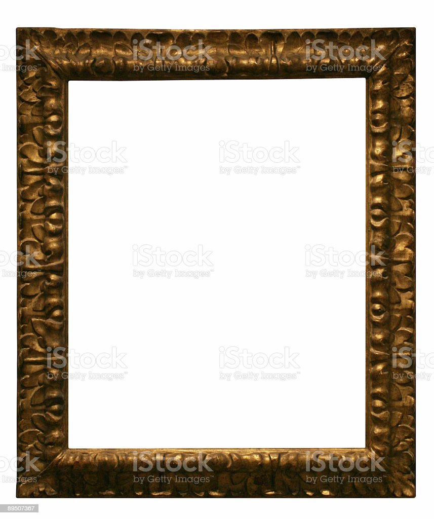 Design Element - Frame to use in your layout royalty-free stock photo