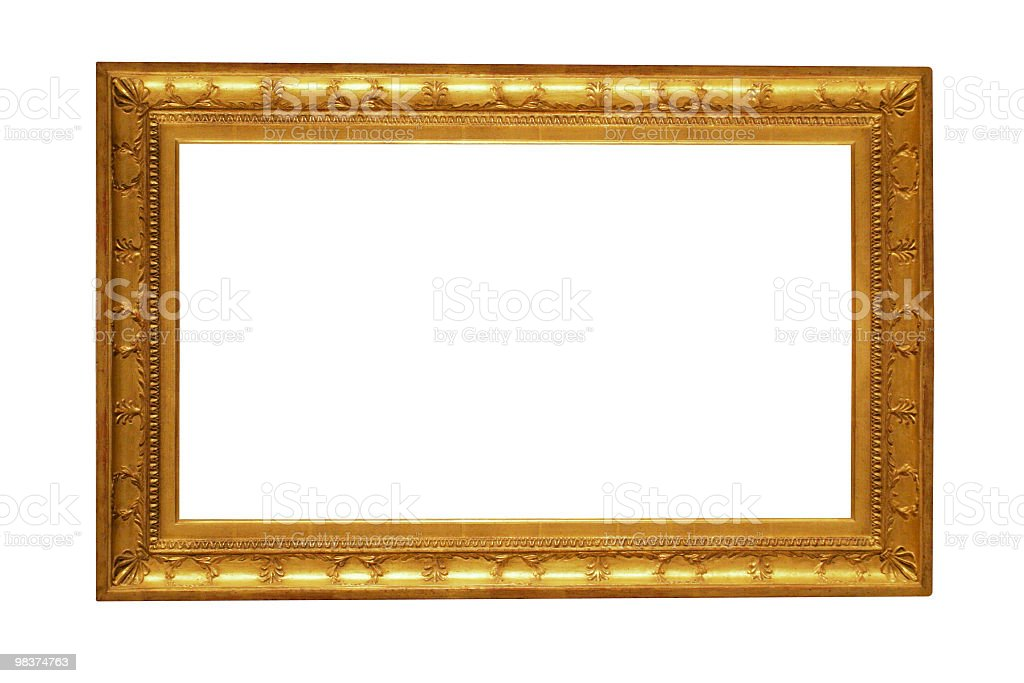 Design Element - Golden frame royalty-free stock photo