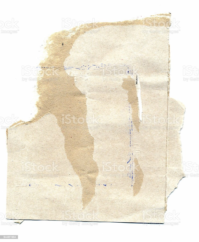 Design Element - Torn Paper royalty-free stock photo