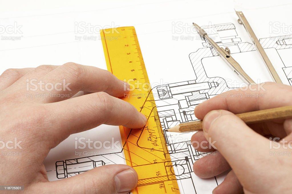 design engineer royalty-free stock photo