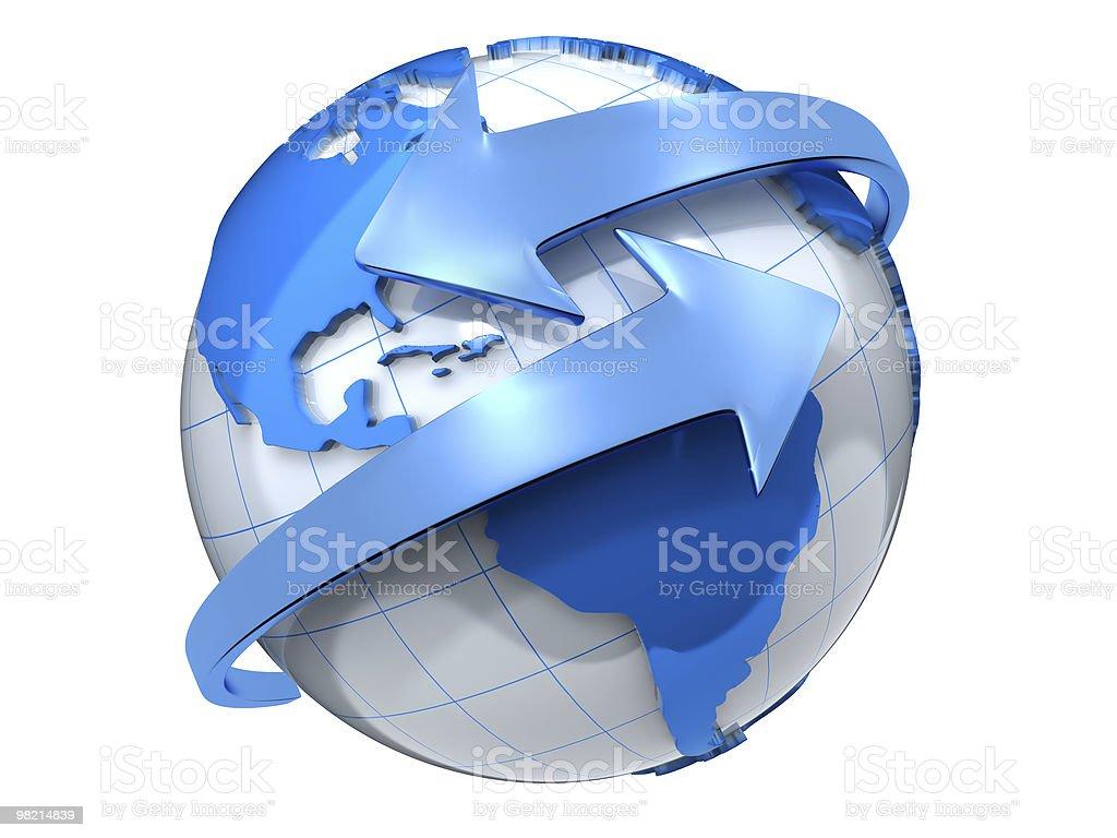 Global foto stock royalty-free