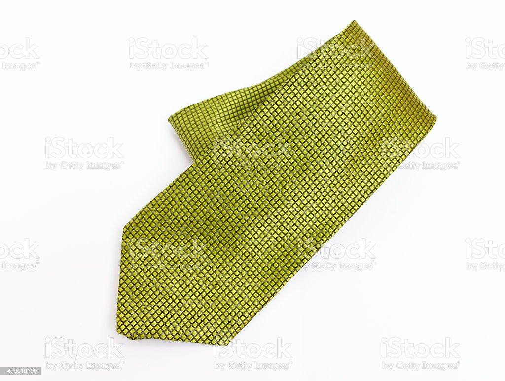 Design Green pattern necktie stock photo