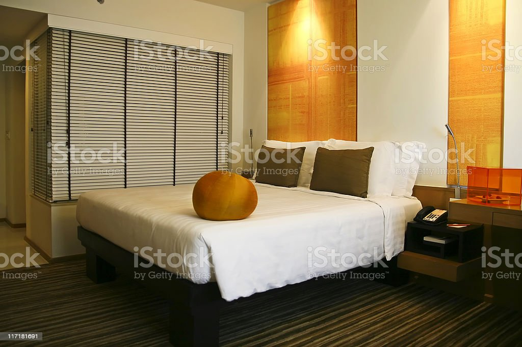 Design hotel room royalty-free stock photo