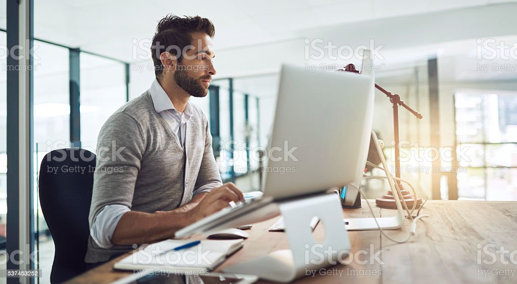 Design is a method of problem solving stock photo