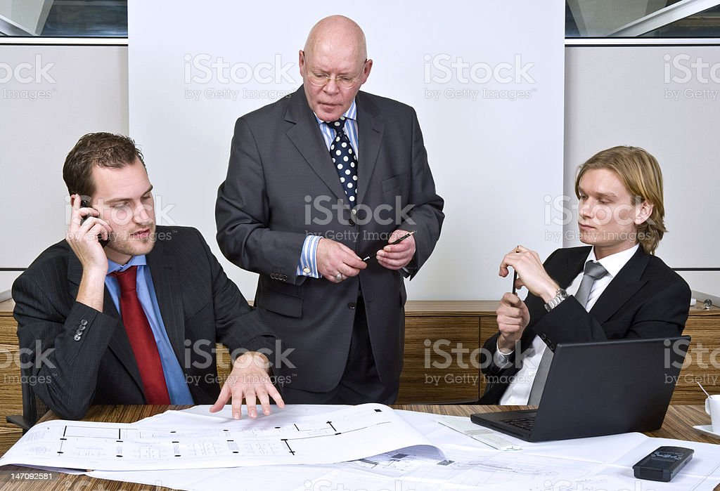 Design meeting royalty-free stock photo