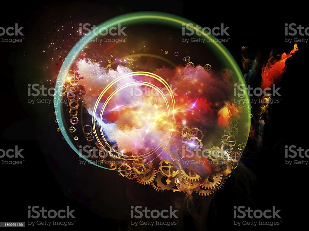Design Nebulae Backdrop stock photo