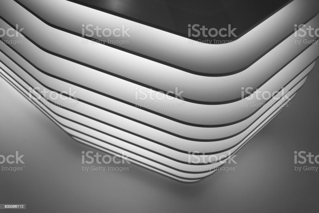 A design of a generic stand stock photo