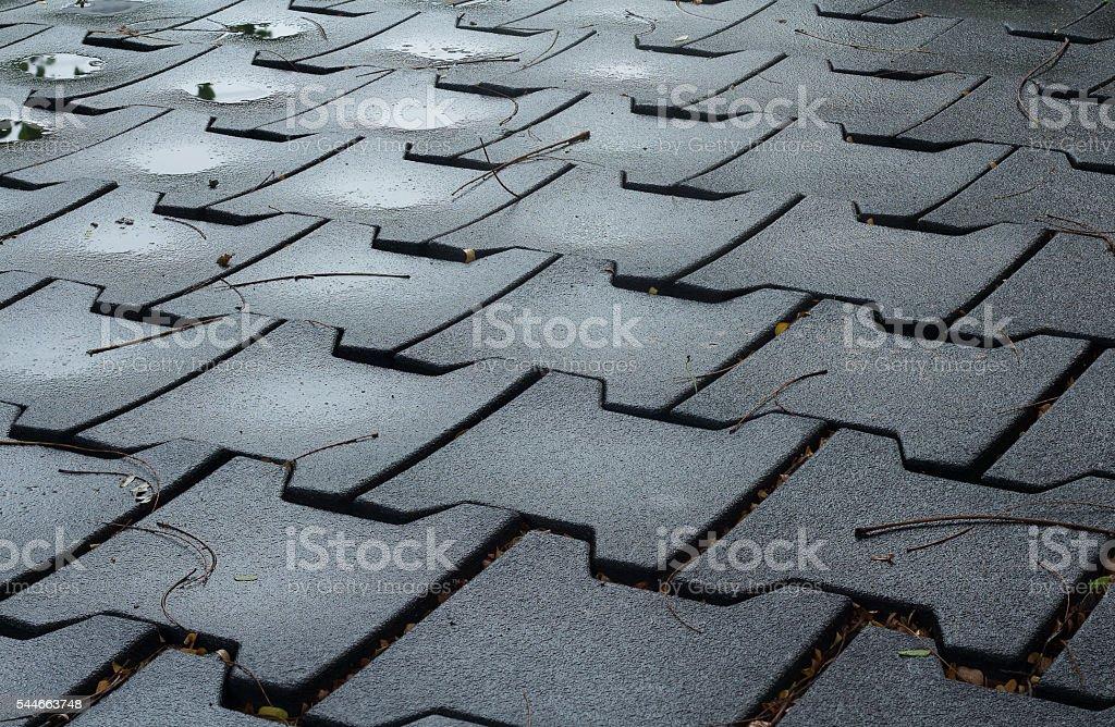 Design Of Cement Brick Floor Background Stock Photo Download Image Now Istock