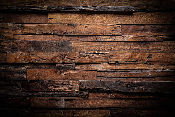 design of dark wood background design of dark wood texture background log stock pictures, royalty-free photos & images