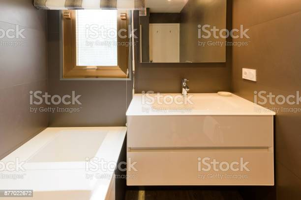 Design Of Modern Luxury Bathroom Interior Stock Photo Download Image Now Istock