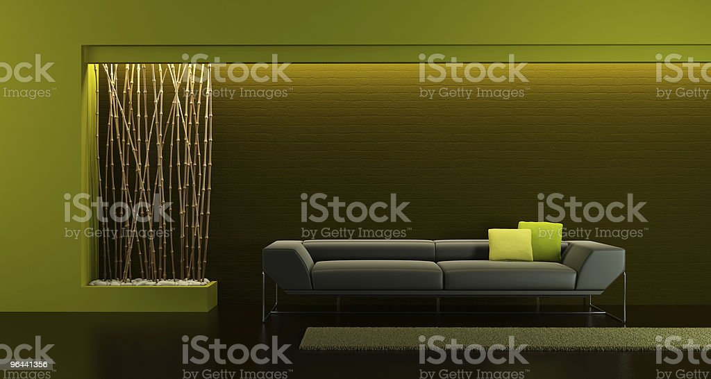 design of the lounge room royalty-free stock photo