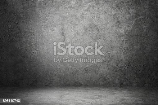 istock design on cement and concrete with shadow 696110740
