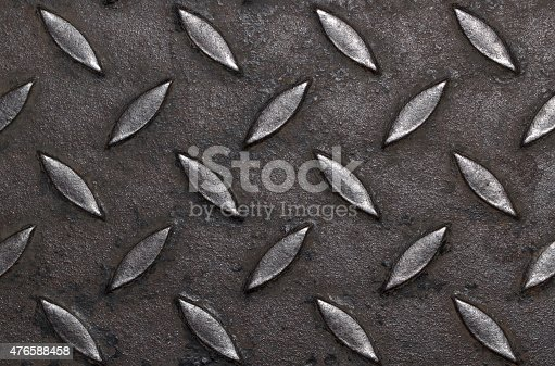 istock Design on steel for pattern and background 476588458