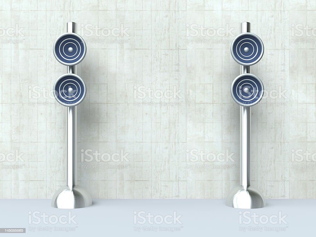 Design Speaker - Interior royalty-free stock photo