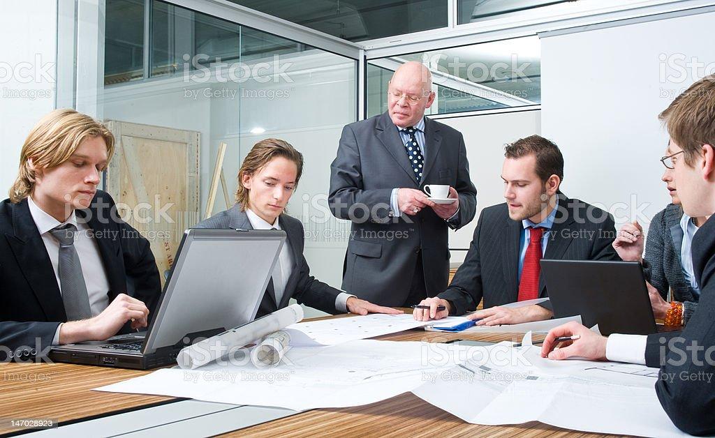 Design team meeting royalty-free stock photo