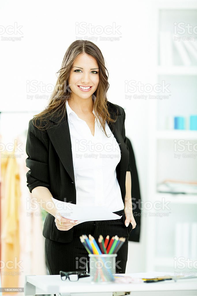 Designer At Work. royalty-free stock photo