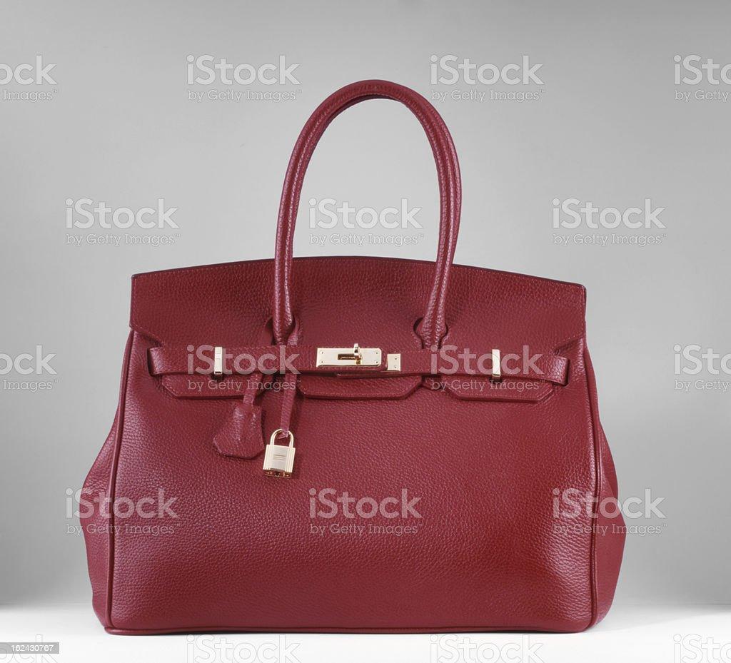 designer bag stock photo