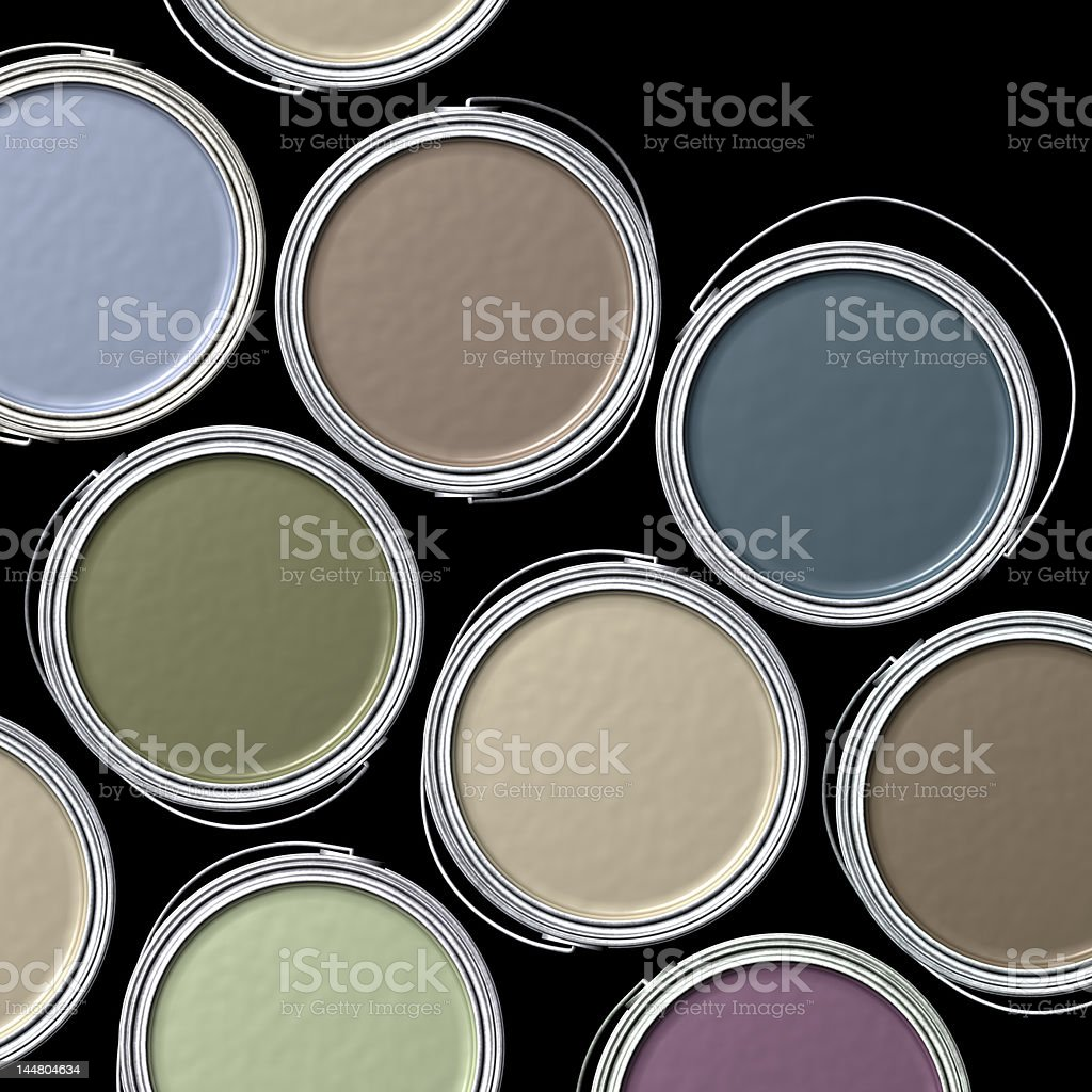 Designer Colors stock photo